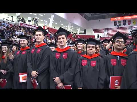 NJIT Commencement 2018 for Newark College of Engineering Masters Degrees