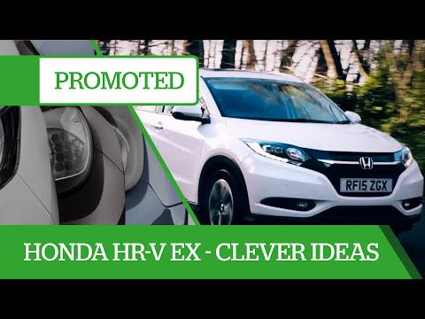 Promoted: Honda HR-V EX – clever ideas to make your life better