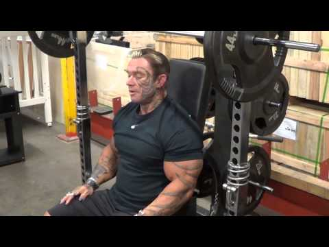 Lee Priest Talks About Lube And Smith Machines