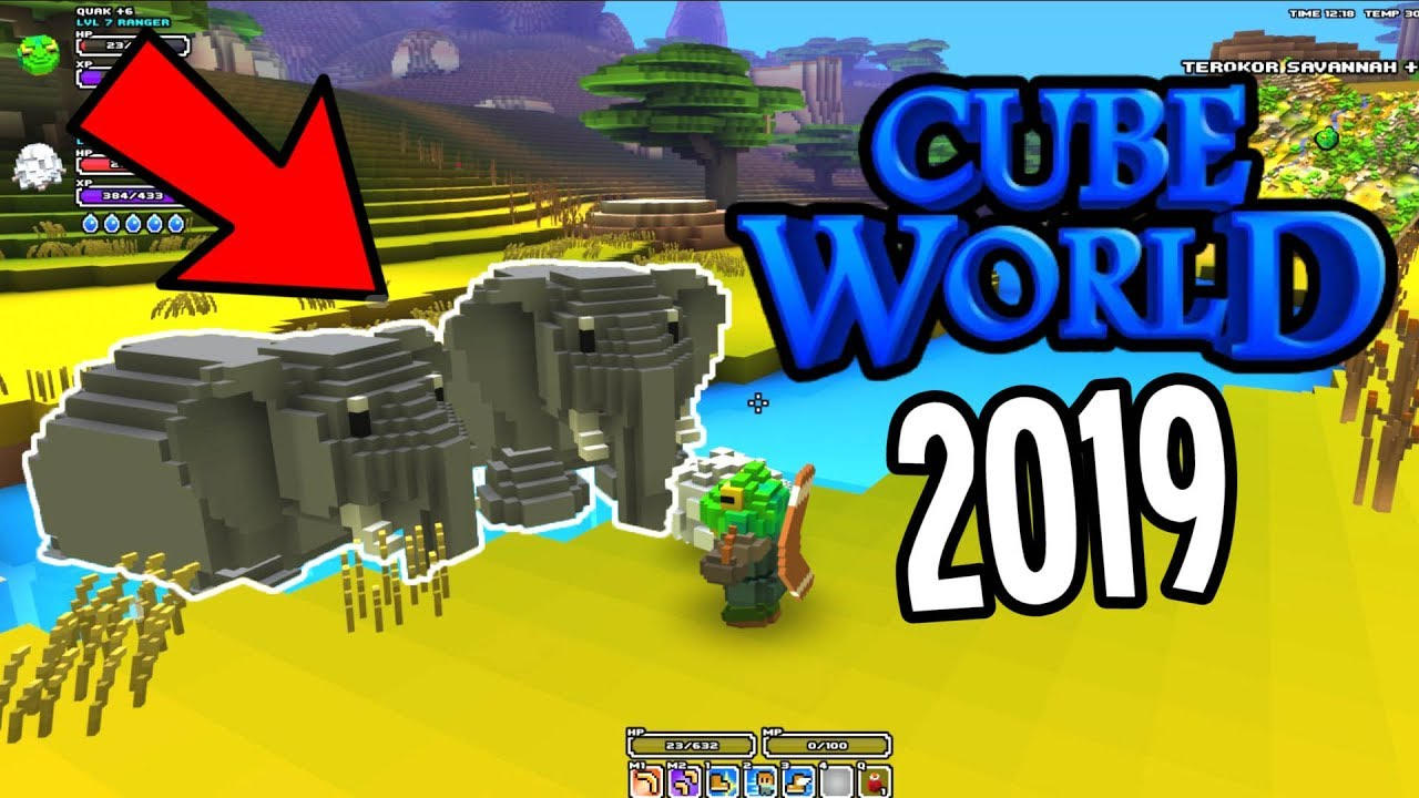 Cube World 2019 New Biomes Creatures Cities And More What We Know So Far Youtube
