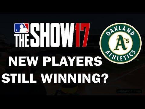 New Players, Still Winning?? Oakland A's Franchise Episode 27   MLB 17 Franchise