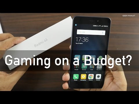 Redmi 4A Gaming Review The Budget Gaming Smartphone?