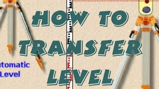 How to transfer level with Dumpy|Auto Level in Hindi