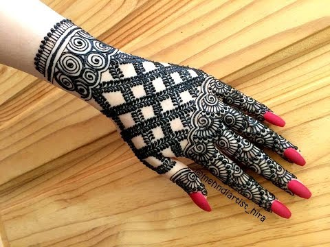 How To Apply Beautiful Latest Trendy Stylish Heavy Bridal Henna
