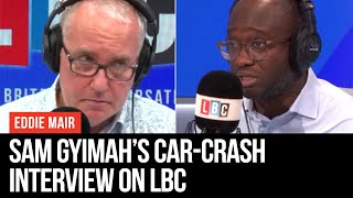 Sam Gyimah's car-crash interview with Eddie Mair