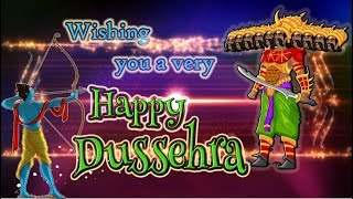 Wish You a very Happy Dussehra 2017