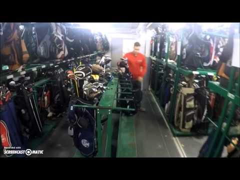 Racking a Golf Bag