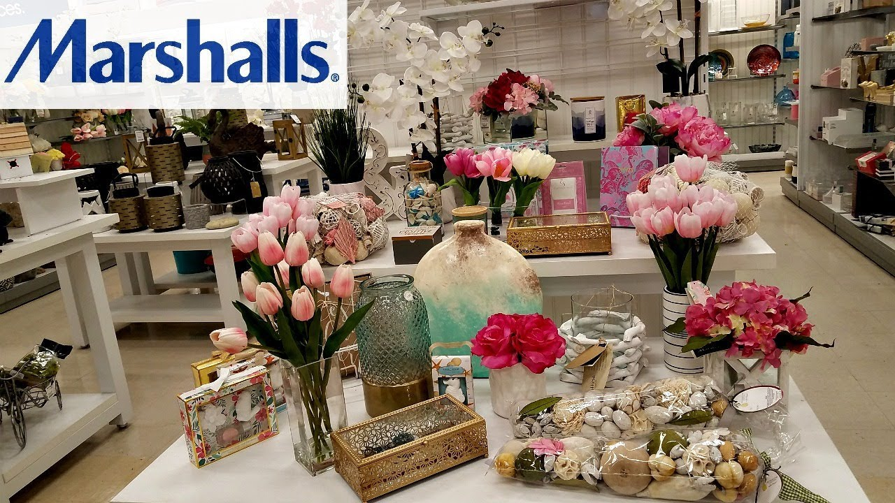 Shop With ME MARSHALLS BEDDING HOME DECOR STATIONARY WALK THROUGH MAY 2018  YouTube
