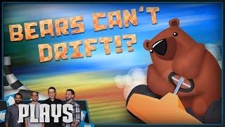 Crash Team Racing's Bear Successor, Bears Can't Drift!?  - Kinda Funny Plays