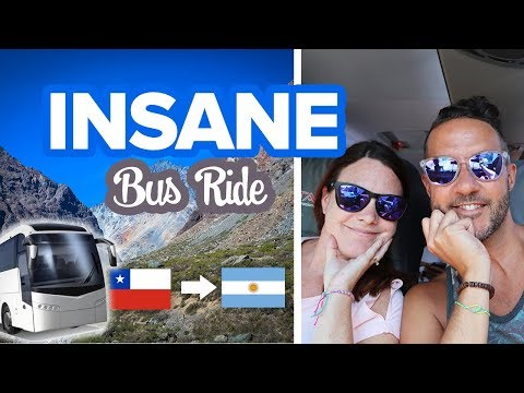 Breathtaking 9 Hour Bus Ride From Chile To Argentina 🚎 Santiago To Mendoza By Bus