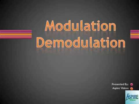 Modulation and Demodulation | Communication | BSNL TTA/JE/JTO