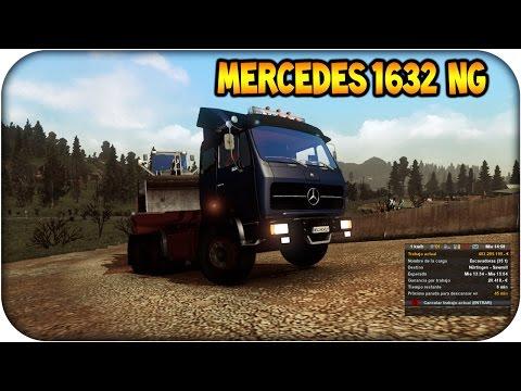 Mercedes benz 1632 NG | Euro truck simulator 2 | 1.12. -- 1.13: ★★★㋡═☞★ GAMEPLAY  ★☜═㋡★★★ Suscribete al nuevo canal: http://goo.gl/IACHz2   MOD: http://sh.st/yGyq0  MApa http://sh.st/yGyrI (esperar 5 Segundos y saltar publicidad) ...........................................................................................   ★★㋡═☞★JUEGOS CON 80% DE DESCUENTO  ★☜═㋡★★  juegos originales steam y origin asta con un 80% de descuento  http://goo.gl/91188Q   Kinguin  http://goo.gl/qPKRGF   G2A ..............................................................................................  ★★★㋡═☞★ MODS QUE MAS USO  ★☜═㋡★★★  Truck Sim Map 5.1.2 http://adf.ly/rg6WW  Pakete de Cargas Jazzycat 2.6 http://adf.ly/rg6db  Hd graphics :  http://adf.ly/rg6rF   (esperar 5 Segundos y saltar publicidad) ...............................................................................................    ★★★㋡═☞★ SUPER BLOG  ★☜═㋡★★★ Los mejores juegos, tutoriales, ofertas, multiplayer, programas  http://maickpower.blogspot.mx/ http://maickpower.blogspot.mx/ ...............................................................................................  ★★★㋡═☞★ MI PC  ★☜═㋡★★★  ►    CPU:Fx6300 (3.5Ghz) Six core    T.Gráfica: Sapphire R7 250 1Gb DDR5    Ram: 4Gb DDR3    Windows 8.1 ..............................................................................................  ★★★㋡═☞★ SIGUENOS REDES SOCIALES ★☜═㋡★★★  REDES : ►Fan page:                                         http://goo.gl/z8sRIq   ► Blog (web) :                                      http://goo.gl/KftzA1  ► Suscribete es gratis :                        http://bit.ly/1gfDM7r  ►Comparte tus aportes en facebook:     http://on.fb.me/PV1Kdo  ► Siguenos en Twitter :                         http://goo.gl/YDNJjs  ► En vivo streams twitch tv:                   http://bit.ly/OBLqNO