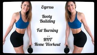 [SILENT] Express Booty Pop + Fat Burn HIIT Workout