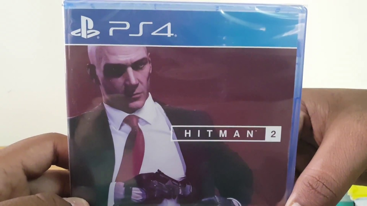 Unboxing Hitman 2 For Ps4 Youtube