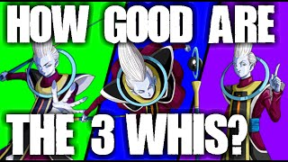 Ssr whis comparison (teq, agl & int, ssr analysis!) - dragonball z dokkan battle