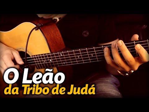 O LEÃO DA TRIBO DE JUDÁ Violão FINGERSTYLE