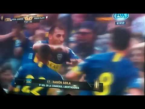 Peña Antonio Roma- Filial Boca Nueve de Julio- Gran Final Copa Libertadores-Empate Boca-River