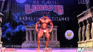 MR  LIONS 2014, REBELION DE LOS TITANES, CLASIFICADOS NACIONAL