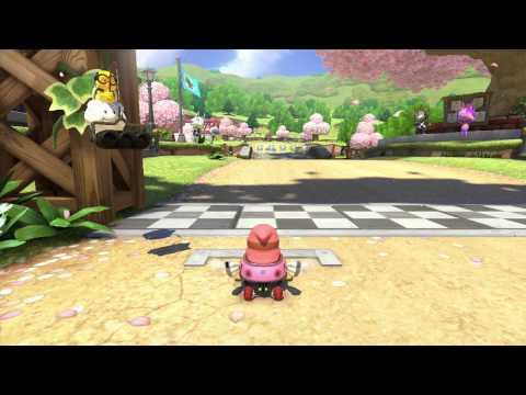 Mario Kart 8 (MK8) Online #12 200cc DLC 2 w/ BABY BITCH