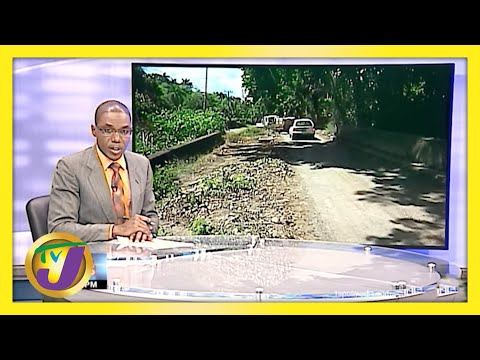 Residents in St. Mary Jamaica Complain About Roads | TVJ News