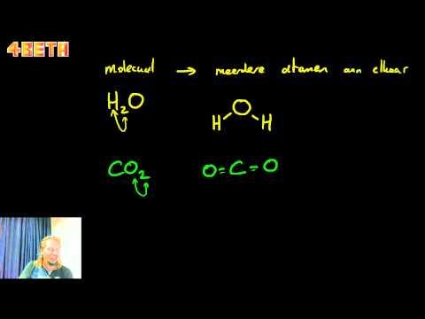 Atomen en moleculen   klas 3