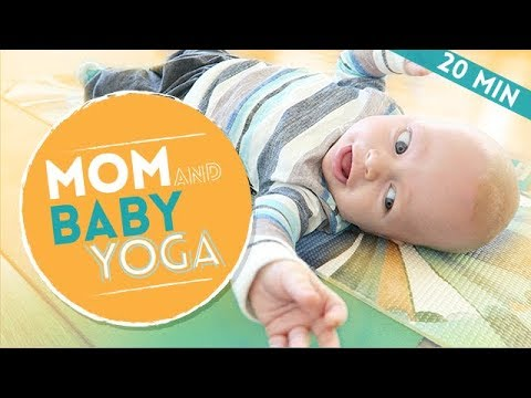 Mommy and Me: Mom & Baby Stretch and Workout with Newborn (20-min)