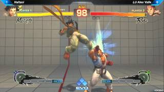 EVO 2013 - Makoto (Haitani) vs. Ryu (LU Alex Valle) [Semi-Finals Pool] [SSF4 AE 2012]