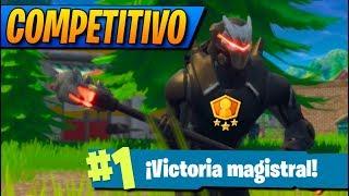 VICTORIA en NUEVO MODO COMPETITIVO! FORTNITE: Battle Royale (Ranked/Liga)
