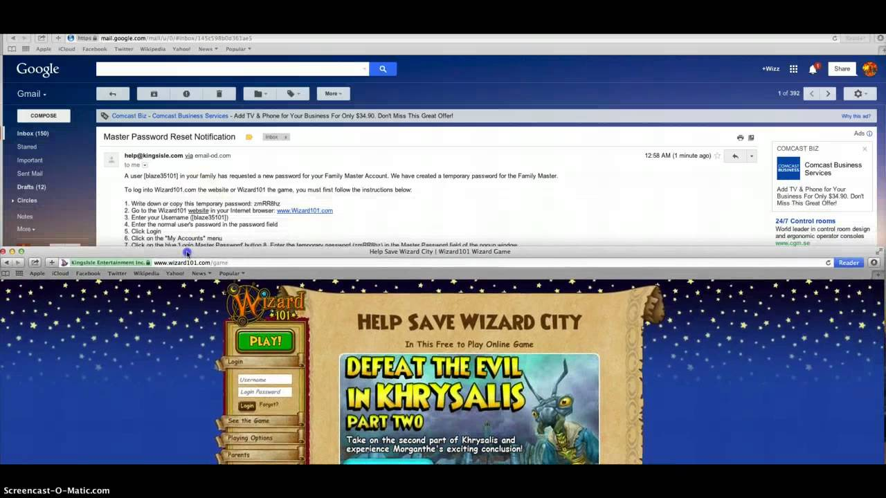 How to get your wizard101 account back official!