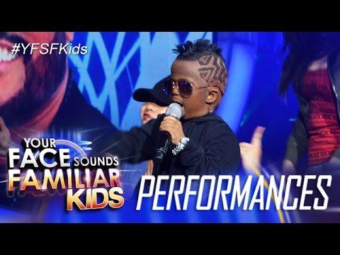 Your Face Sounds Familiar Kids: Xia Vigor as APL.D.AP - Bebot