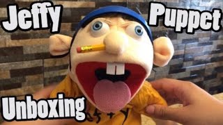 Official Jeffy Puppet Unboxing / Review! | SML Merch
