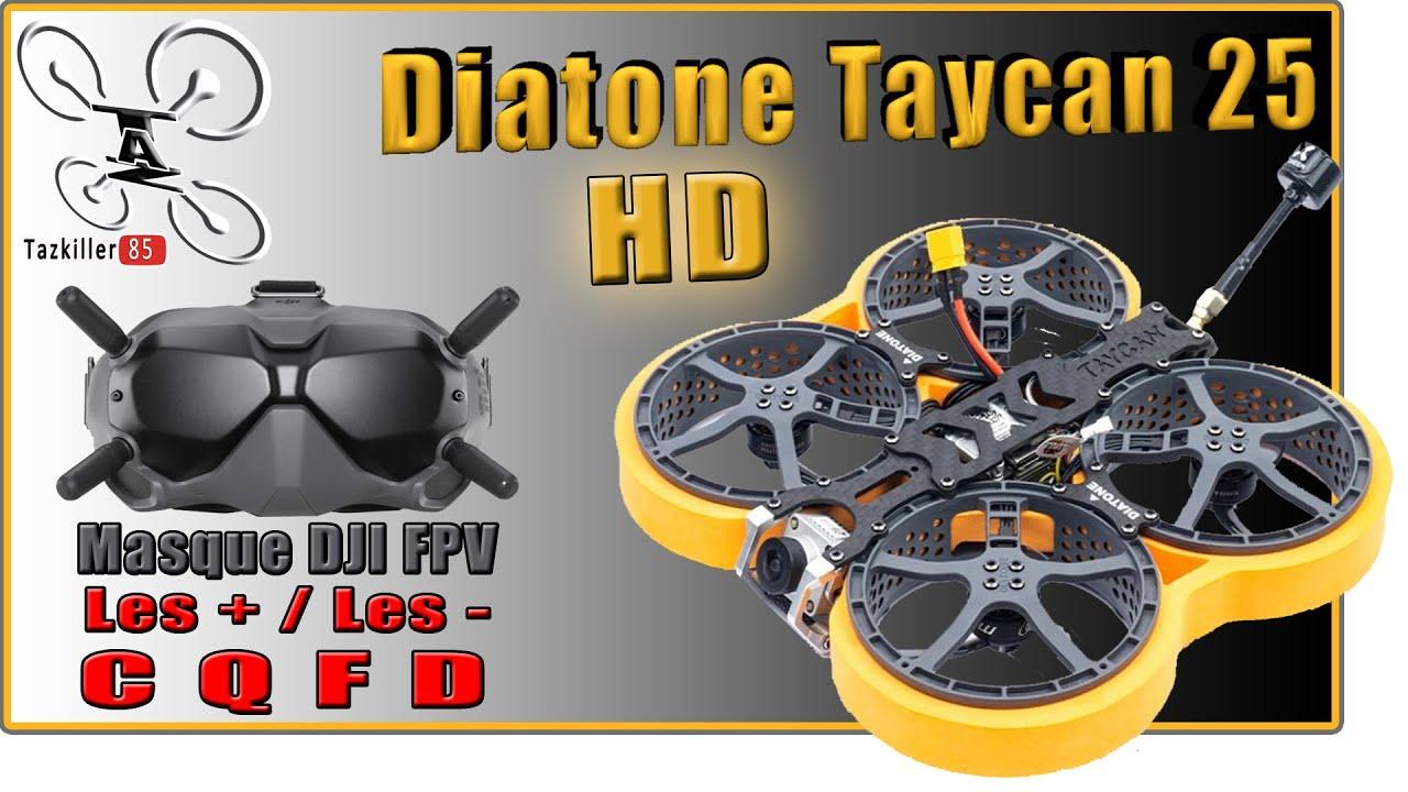 Download Diatone TAYCAN 25 - Review Test Démo - Masque DJI FPV, on en parle ? ...