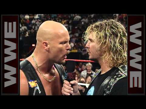 """Stone Cold"" Steve Austin breaks Brian Pillman&39;s ankle - Raw Oct 27 1996"