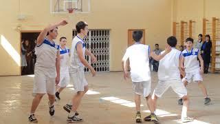 Открытый урок по баскетболу МАОУ сош №16 г. Альметьвск 2 часть