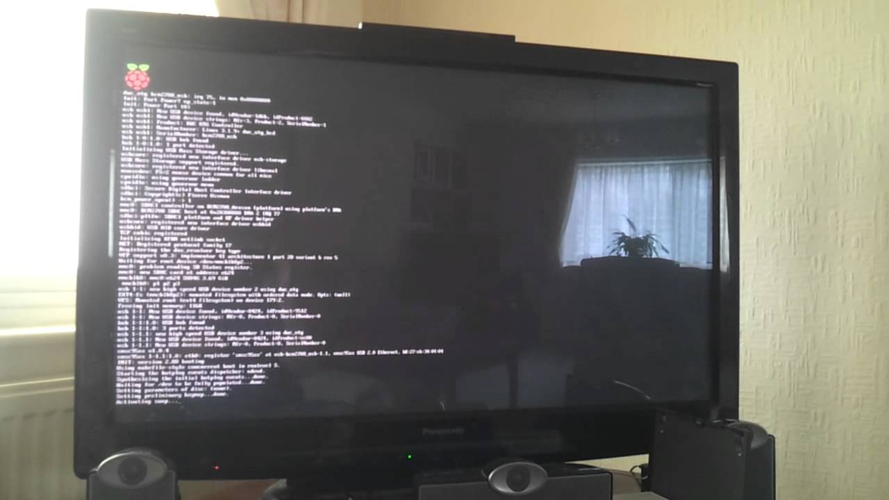 Raspberry Pi booting in to a full screen web browser