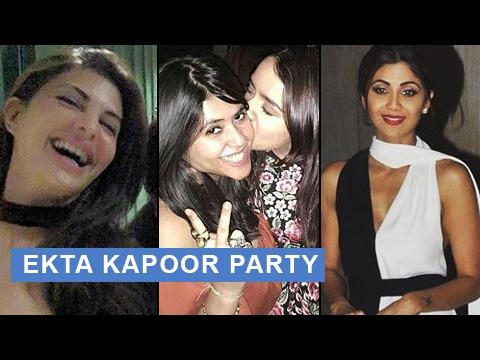 Download Jacqueline Fernandez | Shraddha Kapoor | Shilpa Shetty | Bollywood Celebs At Ekta Kapoor Party