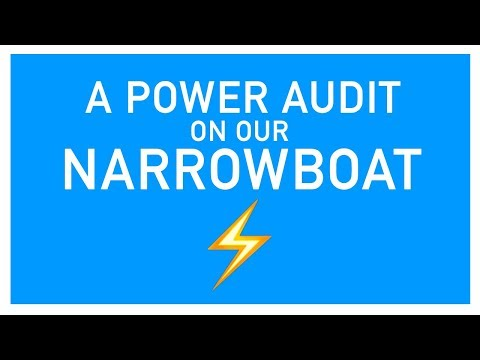 A POWER AUDIT ON OUR NARROWBOAT