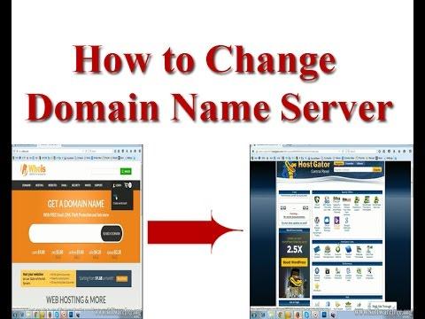 How to change domain name server 2015 (whois.com to hostgator.com)