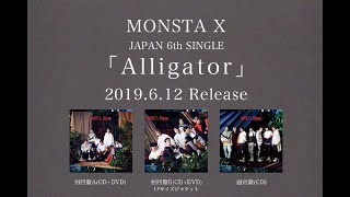 MONSTA X 「Alligator-Japanese ver.-」 Music Video(Short ver.)