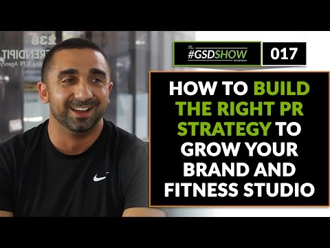 The GSD Show | Episode 017: How to Build the Right PR Strategy to Grow Your Brand and Studio