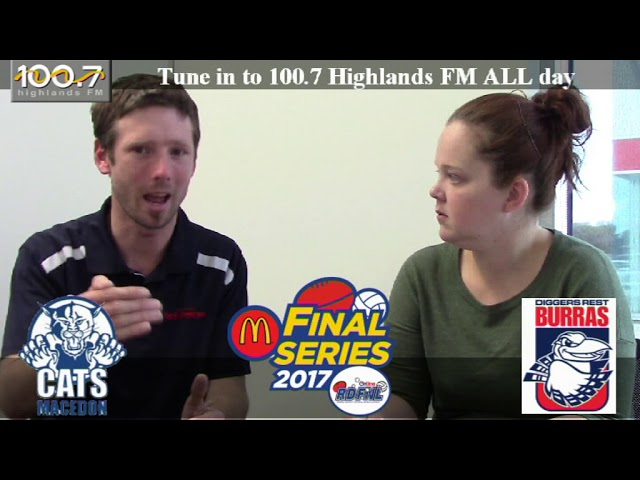 RDFNL Footy Show Week Two Finals  - Macedon v Diggers Rest Preview