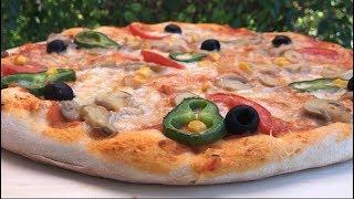 recette pizza italienne  , la vraie pâte à pizza