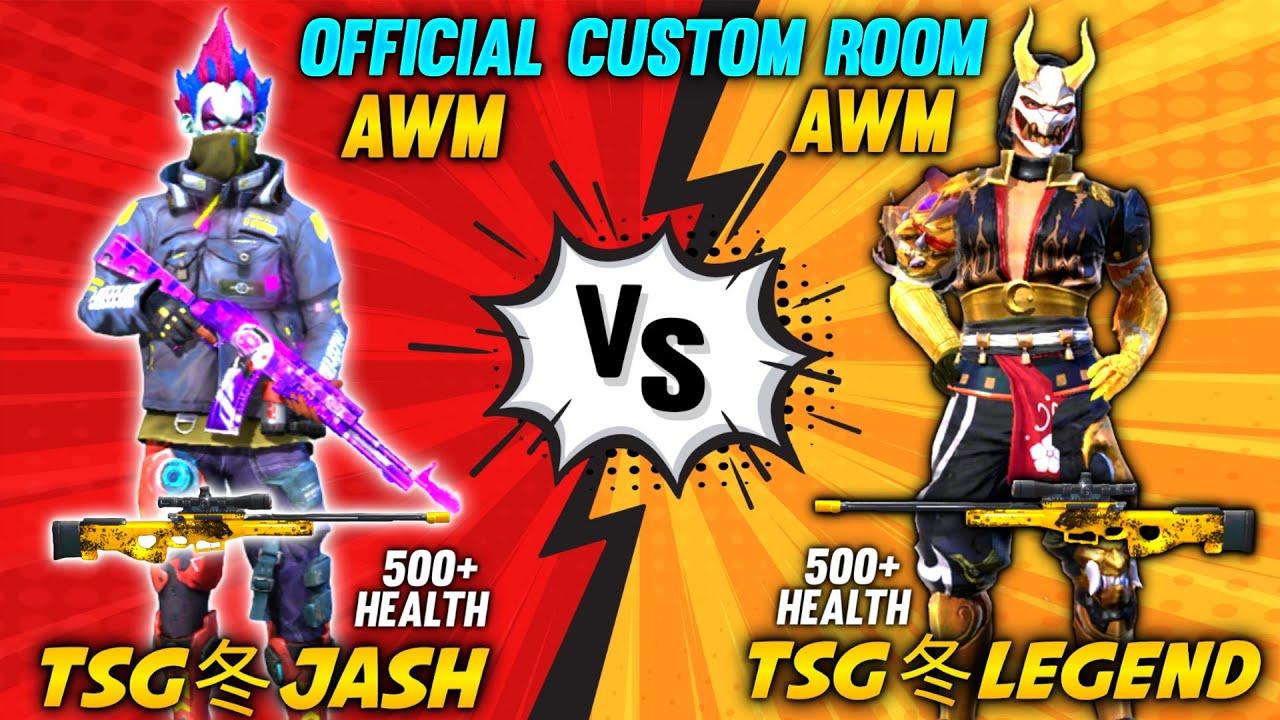 FREEFIRE || TSG• JASH VS TSG• LEGEND OMG AWM VS AWM || 500++ HEALTH + UNLIMITED GLOO WALLS || TSG