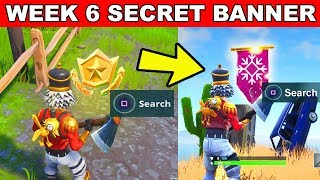 SECRET BANNER WEEK 6 SEASON 7 LOCATION Loading Screen Fortnite – WEEK 6 SECRET BATTLE STAR REPLACED