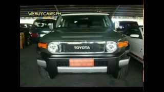 2012 Toyota FJ Cruiser Full Options Philippines Best Buy - WEBUYCARS.PH