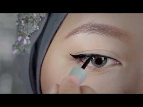 Tutorial: Eyeliner Liquid Wardah