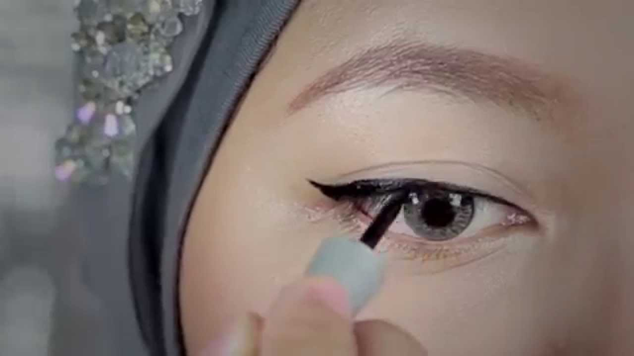 Tutorial Eyeliner Liquid Wardah Youtube My Darling