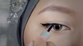 vuclip Tutorial: Eyeliner Liquid Wardah