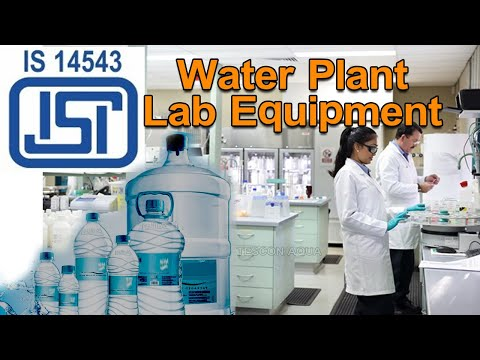 IS 14543 Water Plant Laboratory With Indian Standards