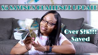 6 Month Savings Challenge (UPDATE) | $5 Dollar Challenge | Ways to save Money